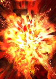 爆破の写真素材 [FYI00061892]