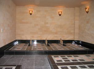 陶板浴場の写真素材 [FYI00061922]