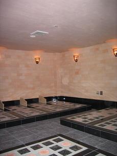 陶板浴場の写真素材 [FYI00061930]