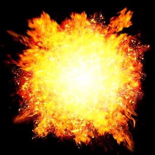 爆発の写真素材 [FYI00062077]
