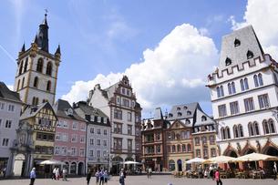 ドイツ トリアー 中央広場の写真素材 [FYI00062598]