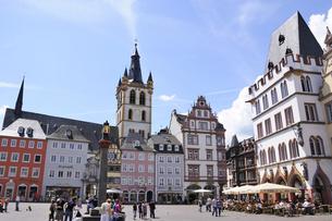 ドイツ トリアー 中央広場の写真素材 [FYI00062620]