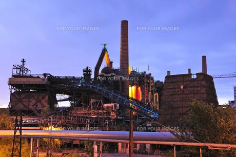 ドイツ フェルクリンゲン製鉄所の写真素材 [FYI00062634]