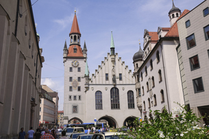 ドイツ ミュンヘン 旧市庁舎の写真素材 [FYI00062644]