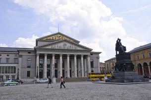 ドイツ ミュンヘン バイエルン州立劇場の写真素材 [FYI00062659]