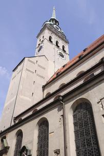ドイツ ミュンヘン ペーター教会の写真素材 [FYI00062661]
