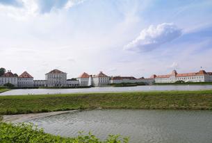 ドイツ ミュンヘン ニンフェンブルク城の写真素材 [FYI00062663]