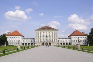 ドイツ ミュンヘン ニンフェンブルク城の写真素材 [FYI00062666]