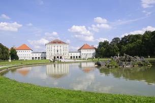 ドイツ ミュンヘン ニンフェンブルク城の写真素材 [FYI00062667]