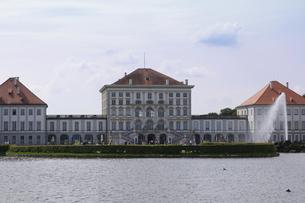 ドイツ ミュンヘン ニンフェンブルク城の写真素材 [FYI00062669]