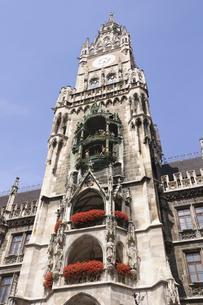 ドイツ ミュンヘン 新市庁舎の塔の写真素材 [FYI00062681]