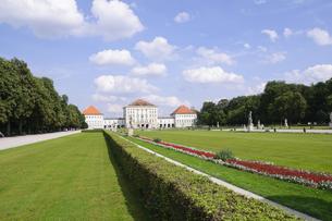 ドイツ ミュンヘン ニンフェンブルク城の写真素材 [FYI00062683]