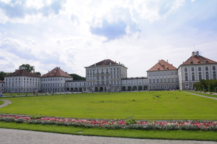 ドイツ ミュンヘン ニンフェンブルク城の写真素材 [FYI00062689]
