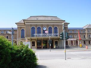 ドイツ バウツェン駅の写真素材 [FYI00062801]