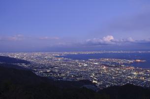 神戸 摩耶山掬星台からの夜景の写真素材 [FYI00062835]