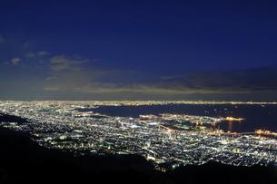 神戸 摩耶山掬星台からの夜景の写真素材 [FYI00062838]