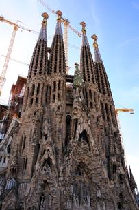 スペイン バルセロナ サグラダ・ファミリアの写真素材 [FYI00063011]
