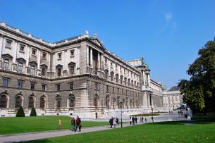 オーストリア ウィーン 新王宮の写真素材 [FYI00063025]