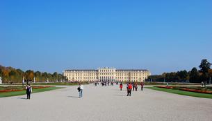 オーストリア ウィーン シェーンブルン宮殿の写真素材 [FYI00063028]