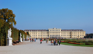 オーストリア ウィーン シェーンブルン宮殿の写真素材 [FYI00063034]