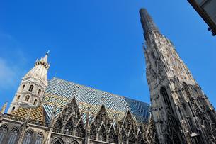 オーストリア ウィーン シュテファン寺院の写真素材 [FYI00063037]