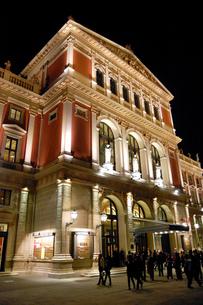 オーストリア ウィーン 楽友協会の写真素材 [FYI00063043]