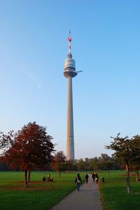 オーストリア ウィーン ドナウタワーの写真素材 [FYI00063048]