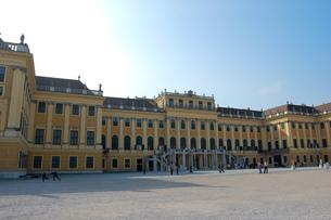 オーストリア ウィーン シェーンブルン宮殿の写真素材 [FYI00063050]