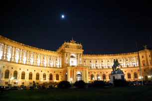 オーストリア ウィーン 新王宮の写真素材 [FYI00063051]