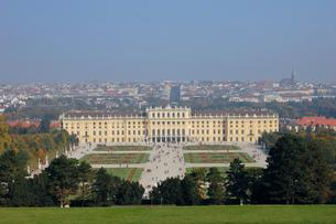 オーストリア ウィーン シェーンブルン宮殿の写真素材 [FYI00063055]