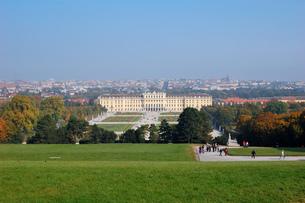 オーストリア ウィーン シェーンブルン宮殿の写真素材 [FYI00063056]