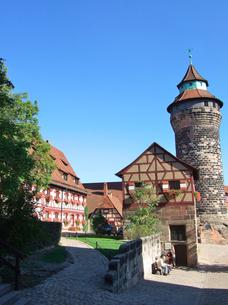 ドイツ ニュルンベルク カイザーブルクの写真素材 [FYI00063071]