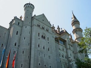 ドイツ ノイシュヴァンシュタイン城の写真素材 [FYI00063073]