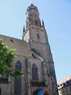 ドイツ ネルトリンゲン 聖ゲオルク教会の写真素材 [FYI00063245]