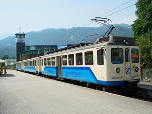 ドイツ ツークシュピッツェ鉄道の写真素材 [FYI00063247]