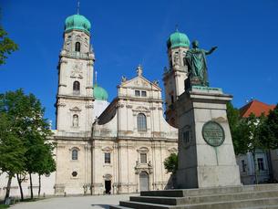 ドイツ パッサウ大聖堂の写真素材 [FYI00063260]