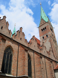 ドイツ アウクスブルク大聖堂の写真素材 [FYI00063327]