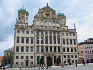 ドイツ アウクスブルク 市庁舎の写真素材 [FYI00063328]