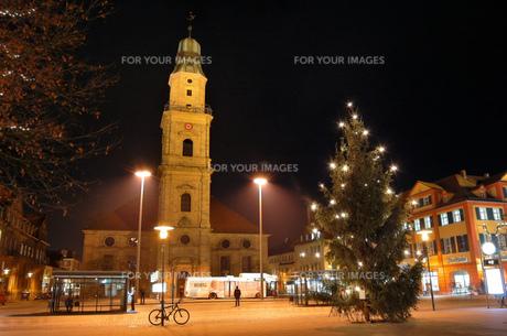ドイツ エアランゲン クリスマスイルミネーションの素材 [FYI00063360]