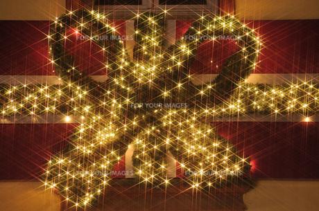 クリスマスイルミネーションの素材 [FYI00063362]