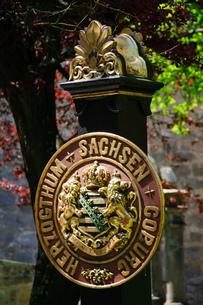ドイツ ザクセン・コーブルク・ゴータ家の紋章の写真素材 [FYI00063363]