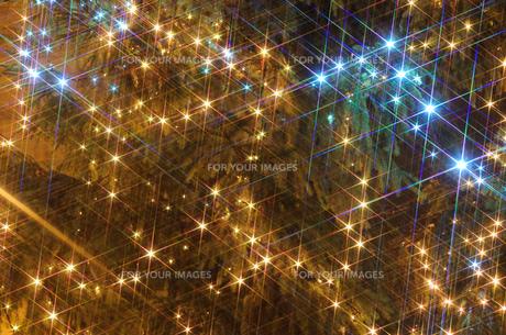 クリスマスイルミネーションの素材 [FYI00063365]