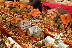 クリスマスマーケットの素材 [FYI00063414]