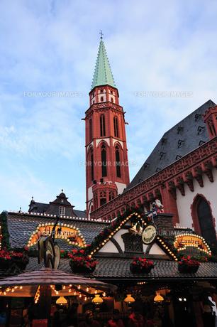 ドイツ フランクフルト クリスマスマーケットの素材 [FYI00063458]