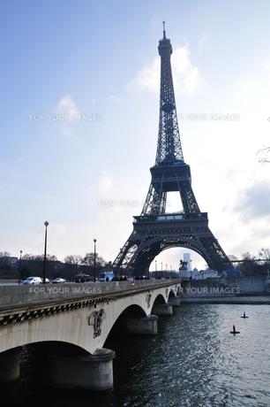 フランス パリ エッフェル塔の素材 [FYI00063507]