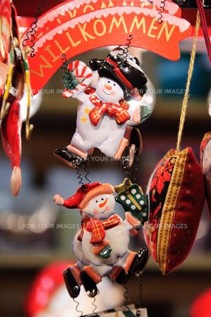 クリスマスマーケットの素材 [FYI00063512]