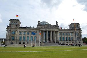 ドイツ ベルリン 連邦議会議事堂の写真素材 [FYI00063701]