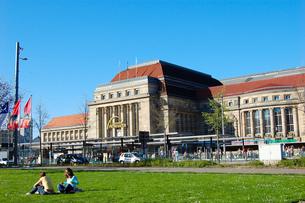 ドイツ ライプツィヒ中央駅の写真素材 [FYI00063716]