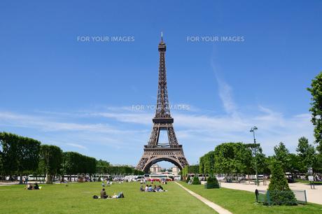 フランス パリ エッフェル塔の素材 [FYI00063800]