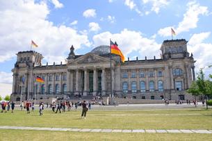 ドイツ ベルリン ドイツ連邦議会議事堂の写真素材 [FYI00063821]